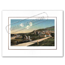 Vintage Greek City Photos Peloponnese - Messinia, Kyparissia, City view (1910)