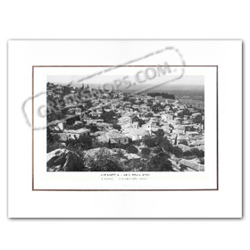 Vintage Greek City Photos Peloponnese - Messinia, Kyparissia, Ano Poli (1952)