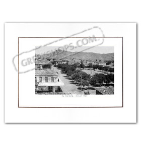 Vintage Greek City Photos Peloponnese - Arcadia, Megalopolis, city view (1910)