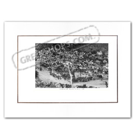 Vintage Greek City Photos Peloponnese - Arcadia, Leonidio, city view (1960)