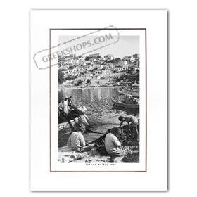 Vintage Greek City Photos Peloponnese - Arcadia, Paralio Astros, City view (1965)
