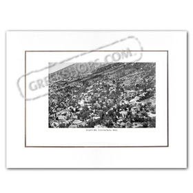 Vintage Greek City Photos Peloponnese - Arcadia, Megalopolis, city view (1960)