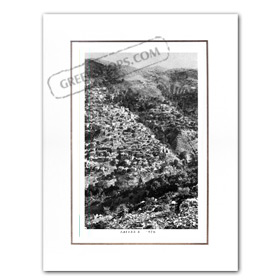 Vintage Greek City Photos Peloponnese - Arcadia, Lagkadia, city view (1935)