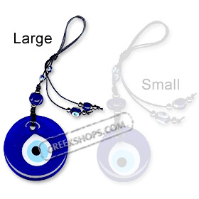Small Blue Evil Eye Decorative Charm 121118C