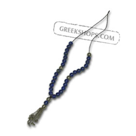 Wearable Worrybead Necklace 140851 Blue