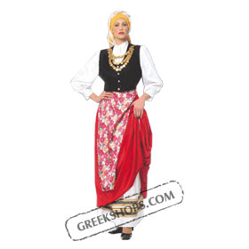 Cephalonian Girl Costume for ages 12-14 Style 227204