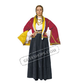 Asia Minor Girl Costume for ages 6-14 Style 228102