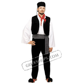 Vlach Boy Costume for ages 6-14 Style 228502