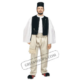 Epirus Boy Costume for ages 6-14 Style 218701