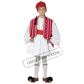Tsolias Costume for Boys Size 8-16 Style 644308