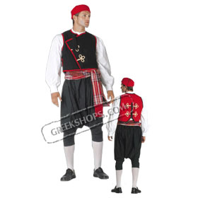 Cyclades Boy Costume for ages 6-14 Style 239103