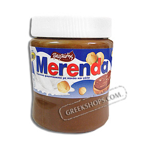 Merenda Pavlidis Greek Chocolate and Hazelnut Spread 400g