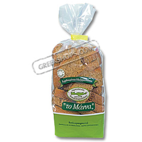 Manna Barley Rusks from Crete - 400gr