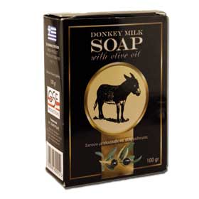 Donkey Milk and Olive Oil Soap - 100 grams bar