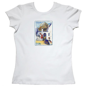 Greeek Islands Womens Tshirt Style 66b