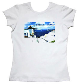 Greeek Islands Womens Tshirt Style 64b