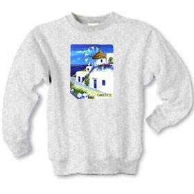 Greek Islands Children's Sweatshirt 65B