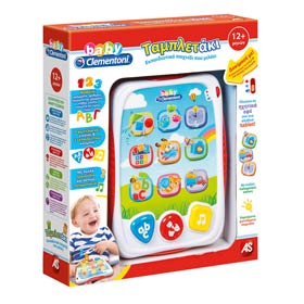 Greek Educational Toys :: My First Baby Tablet, 12mo+