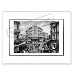 Vintage Greek City Photos Attica - City of Athens, Haftia (1934)