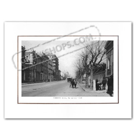 Vintage Greek City Photos Attica - City of Athens, Patision Street (1924)