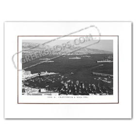 Vintage Greek City Photos Attica - Faliron, Palaio Faliro 6th Fleet (1960)