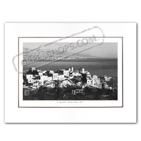 Vintage Greek City Photos Attica - Pireaus, Kastella (1950)