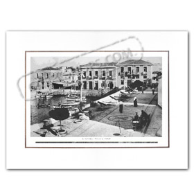 Vintage Greek City Photos Attica - Saronic Gulf Islands, Spetses (1950)