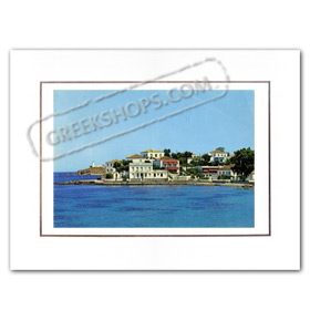 Vintage Greek City Photos Attica - Saronic Gulf Islands, Spetses St. Mamantos (1970)