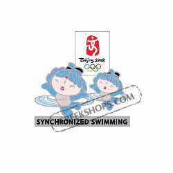 Beijing 2008 BeiBei Synchronized Swimming Pin