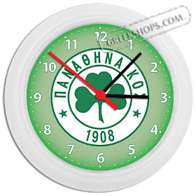 Greek Time - Panathinaikos Wall Clock