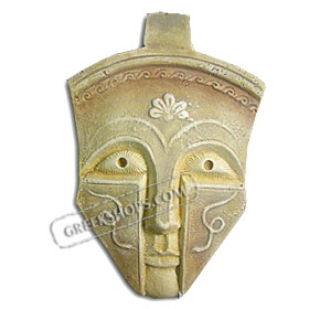 "Warrior Mask (6"") (Clearance 40% Off)"