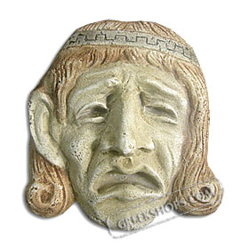"Ancient Greek Tragedy Mask (6"") (Clearance 40% Off)"