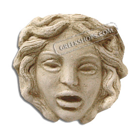 Ancient Greek Medusa Magnet