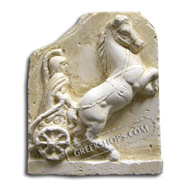 Ancient Greek Chariot Magnet
