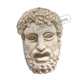 Ancient Greek Dionysus Magnet