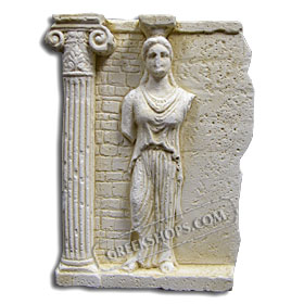 Ancient Greek Caryatid Magnet
