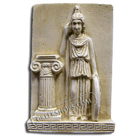 Ancient Greek Athena Magnet