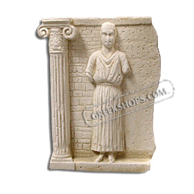 Ancient Greek Iniohos Charioteer Magnet