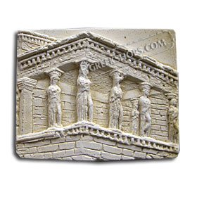Ancient Greek Erechtheion Magnet
