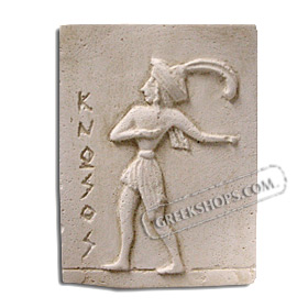 Ancient Greek Prince of Cnossos Magnet
