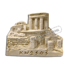 Ancient Greek Cnossos Place Magnet