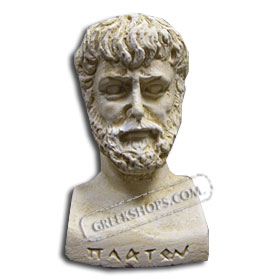 Ancient Greek Plato Magnet