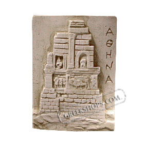 Ancient Greek Philopappos Monument Magnet