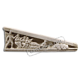 Ancient Greek East Pediment (Right) Magnet
