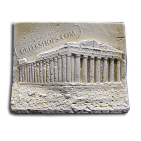 Ancient Greek Parthenon Magnet
