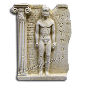 Ancient Greek Kouros Magnet