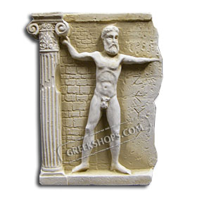 Ancient Greek Zeus Magnet