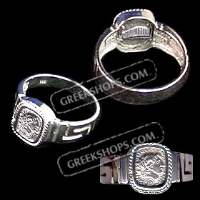 Sterling Silver Alexander-Parthenon Men