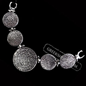 Phaistos Disc Links Necklace