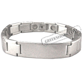 Stainless Steel Bracelet with Box Clasp (11mm)
